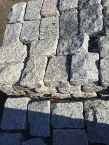gray jumbo belgium blocks (5 inch x 9 inch x 11 inch)