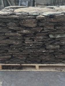 thin fieldstone (1-3 inch)1